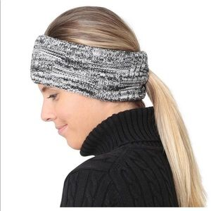TrailHeads Space Dye Knit Ponytail Headband